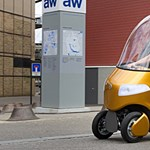 Ilyen rollerszerű autókkal járunk majd?