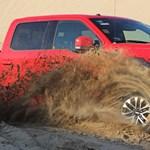Amerikából jöttem, mesterségem címere Ford F-150 Raptor – sivatagi teszt