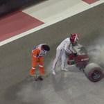 Kigyulladt Räikkönen autója, saját kezűleg oltotta el – videó