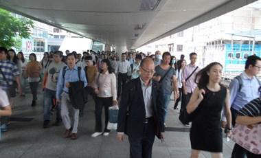 Tízezres tüntetés volt Hongkongban