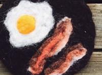 Hogyan kell gyapjúból reggelit főzni? Szuper kis videón mutatja be egy művész