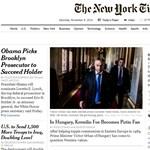 Címlapsztoriban ekézi Orbán Viktort a New York Times
