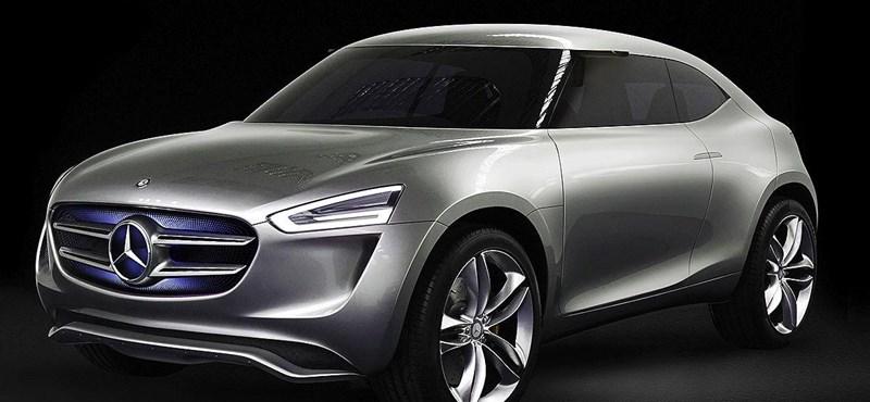 Színváltós terepjáróval sokkol a Mercedes