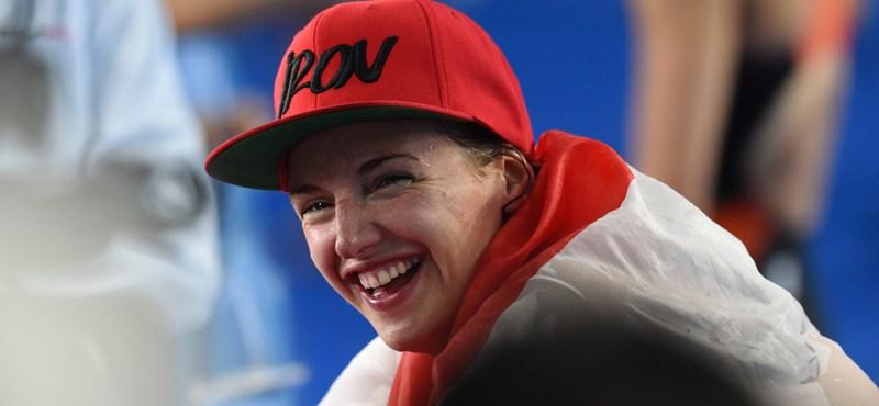 Hosszú Katinka lett az év női sportolója az európai sportújságírók szerint