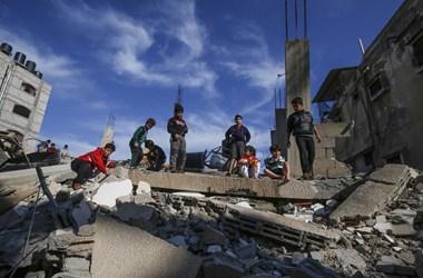 Újabb irodaházat rombolt le az izraeli hadsereg, az AP helyi irodája is ott volt