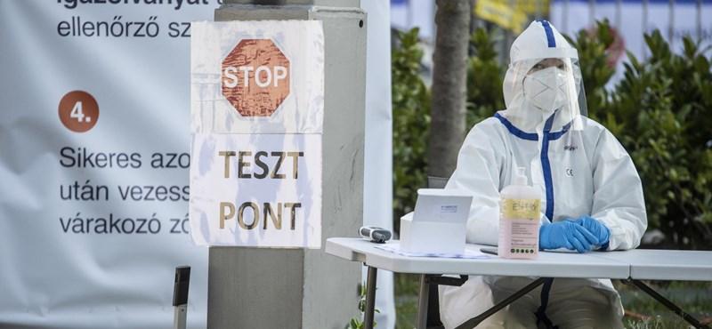 Budapest környékén és három nagyvárosban várható a fertőzöttek számának emelkedése