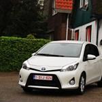 Toyota Yaris Hybrid teszt: hibriddel jobban jár