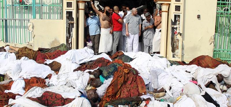 Minden eddiginél súlyosabb adat jött a mekkai tömegszerencsétlenségről