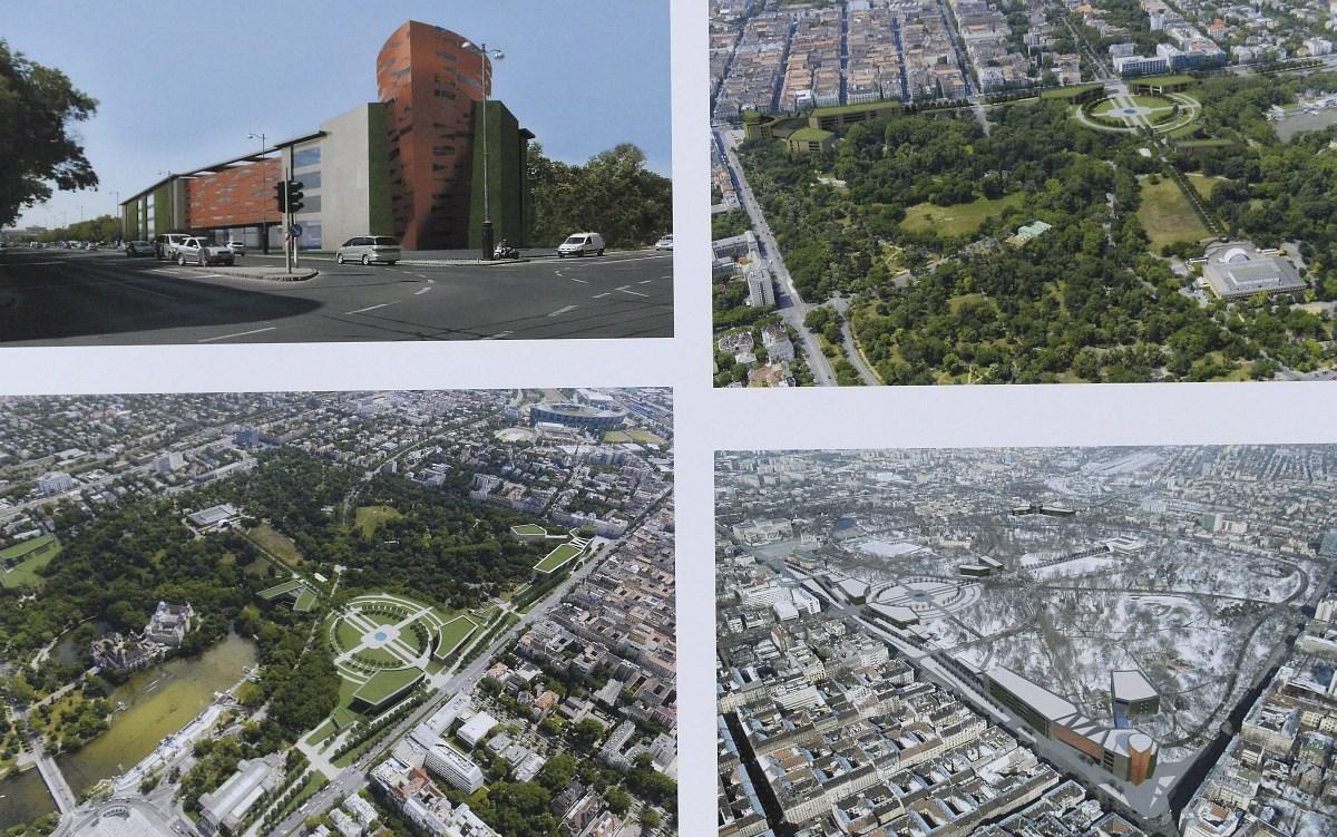 Fotók: kihirdették a Múzeum Negyed elhelyezési ötletpályázatának eredményét