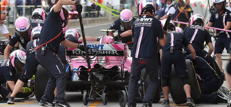 Nagy bajban van az F1-es mezőny egyik legszimpatikusabb csapata