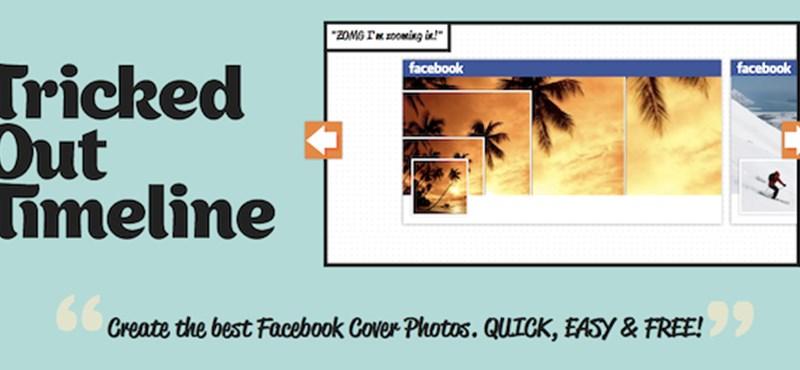 Látványos Facebook Timeline borító és profilkép, gyorsan és ingyen