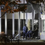 Nagy erejű robbanás egy svéd rendőrőrsnél