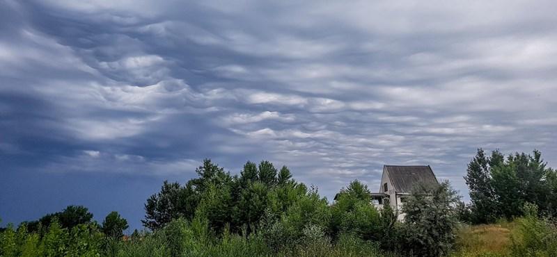 Szépséges felvonulást rendeztek a felhők az ország felett - videók