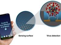 Már készül a mobilos érzékelő, ami képes lehet kimutatni a koronavírus jelenlétét
