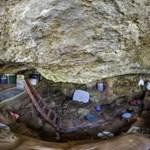 Az emberiség legrégebbi kőkorszaki festékműhelyre bukkantak kutatók