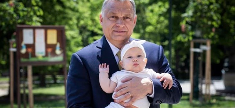Keresztelő volt ma az Orbán családnál