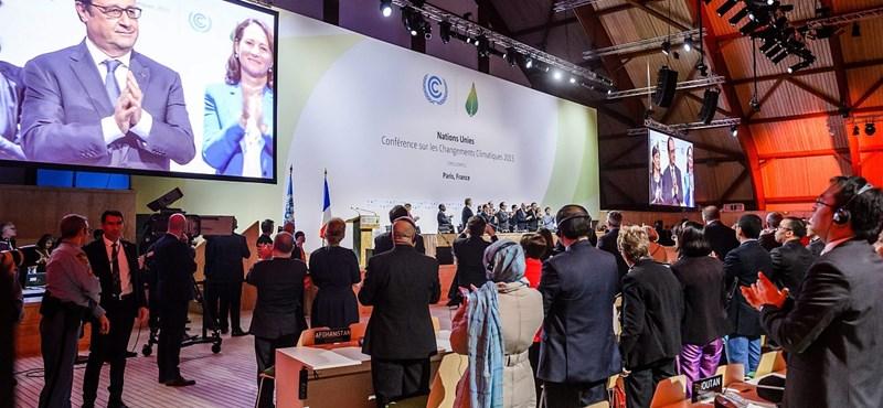 Történelmi megállapodás a klímacsúcson