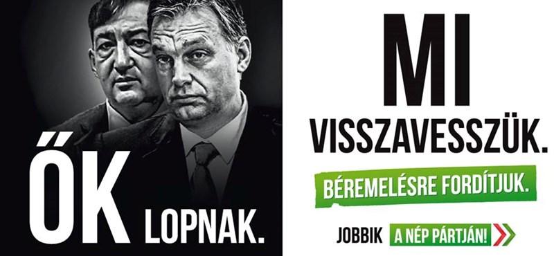 Új plakátokkal folytatja kampányát a Jobbik