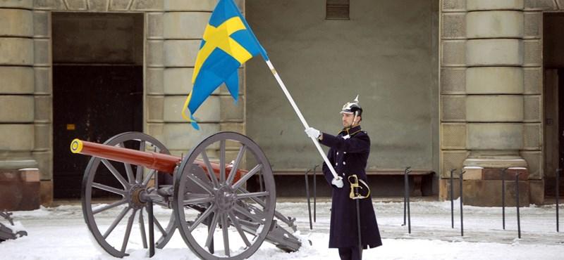 Az orosz propaganda célkeresztjébe került Svédország