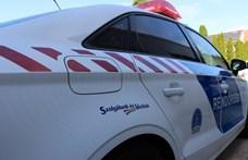 Fának hajtott, majd rátámadt a rendőrre egy autós üldözés után a sofőr