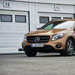 Mercedes GLA-teszt: prémiumnak látszó valóság