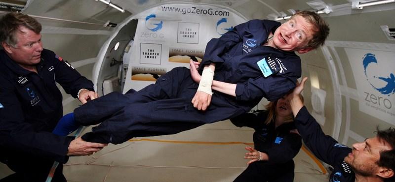 Stephen Hawking élete maga volt a csoda