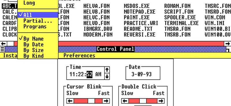 Kis, képes Windows-történelem