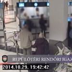 Videó: Így fogták el a Fővám téri késelőt Ferihegyen