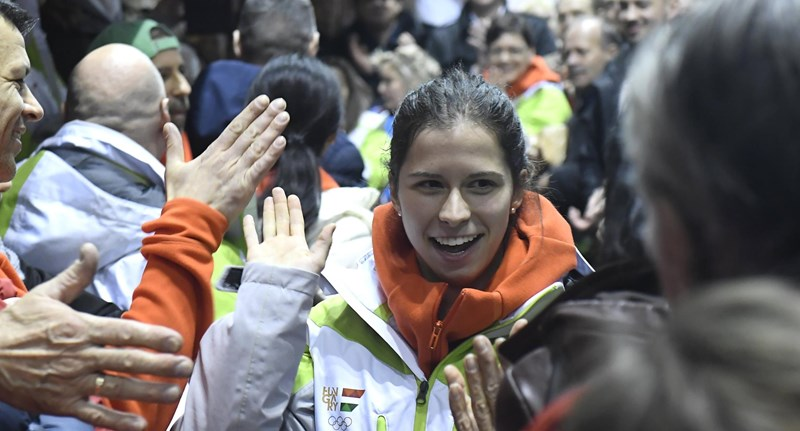 Történelmi aranyat nyert a magyar gyorskorcsolyázó