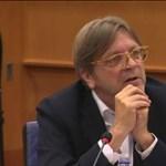 Verhofstadt a CEU elüldözéséről: Sötét nap ez Európában
