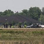 A Honvéd Kórházba vitték a sérült Gripen pilótáját