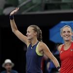 Óriási siker, Babos Tímea Grand Slam-torna-győztes az Australian Openen