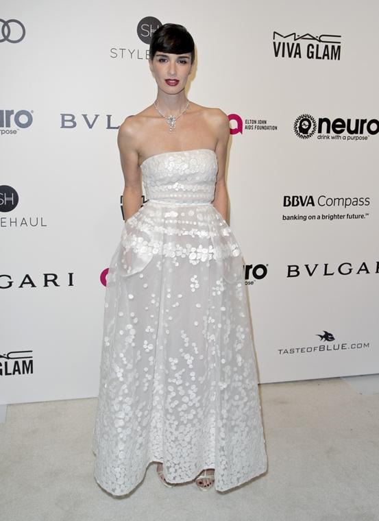 afp.17.02.27. - Hollywood, USA: 89. Oscar-díj - érkezés - Paz Vega - Oscar-díj 2017