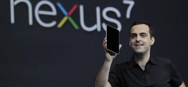 Meglepően jól fogy a Nexus 7, a Google első táblagépe