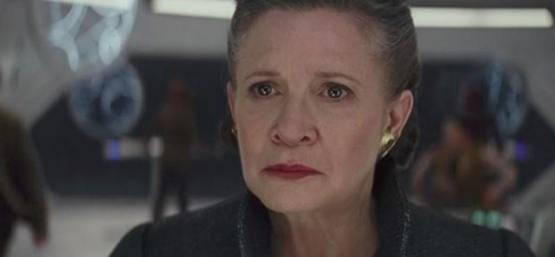 Carrie Fisher kutyája is látta az új Star Wars-trailert – egy emberként sír az Instagram