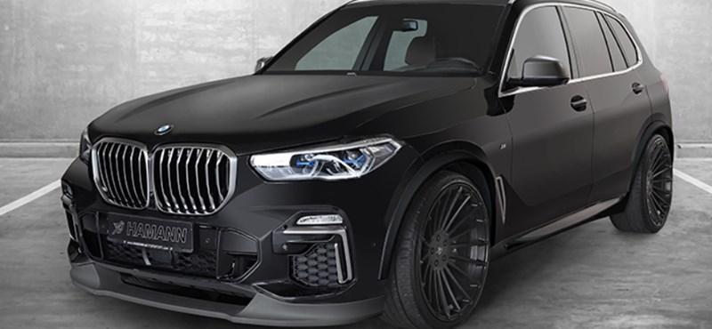 A Hamann kezelésbe vette az új BMW X5-öst