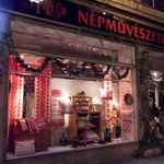 Budapesti Karácsony – matyóhímes karácsonyfa
