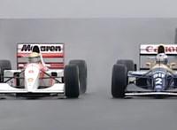 Legendás F1-futam ma a tévében: V8-V12 motorok, friss kommentár és modern live timing
