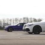Maffiózók egymás ellen: Mercedes-AMG S63 a BMW M760Li-vel szemben – videó