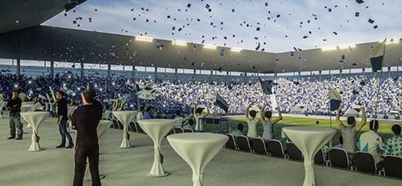 Drágul Mészáros Lőrinc eszéki csapatának stadionja