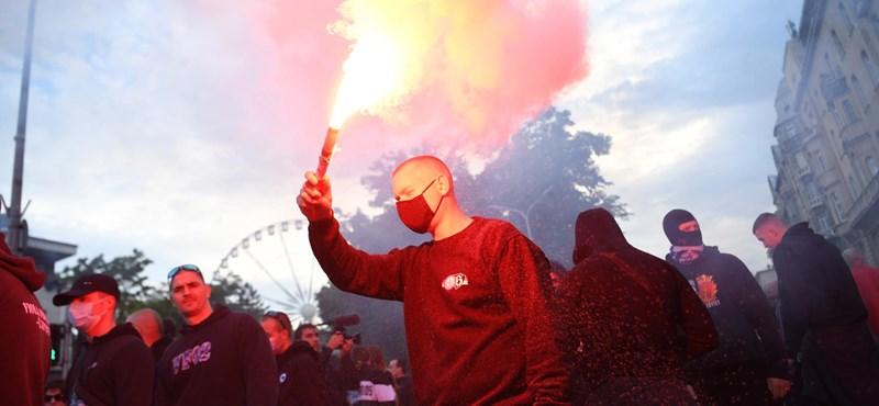Dzsudzsák Balázs is részt vett a Mi Hazánk tüntetésén