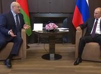 Lukasenka fegyvereket kért Putyintól