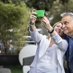 Olasz meghívója szétszelfizte magát Orbánnal és Novák Katalinnal