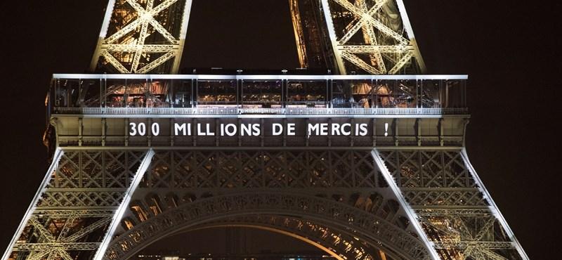 Biztató hírek Párizsból: újra kinyit az Eiffel-torony
