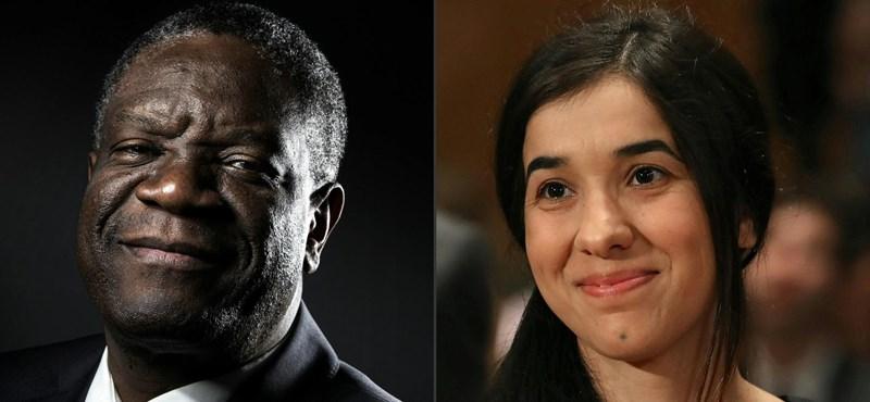 Elrabolták, megerőszakolták, kínozták, most Nobel-díjat kapott
