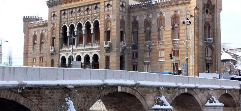 22 éve elpusztított fontos épület újul meg júniusban Szarajevóban