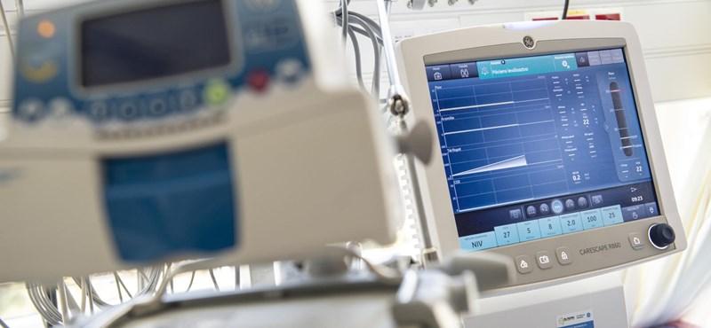 Népszava: Két magyar kórházban sincs már szabad lélegeztetőkapacitás