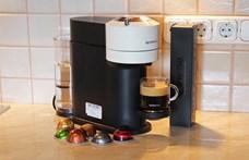 Kipróbáltuk a Nespresso kapszulaforgató kávéfőzőjét, a Vertuót