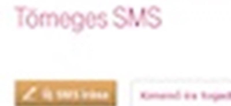 Testre szabott, tömeges sms üzenetek egyszerű kezelése, weben