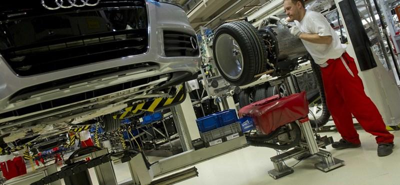Egy magyar autóipari munkás 82 millió forintot termel évente